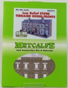 Metcalfe PO275 Low Relief Stone Terraced House Fronts